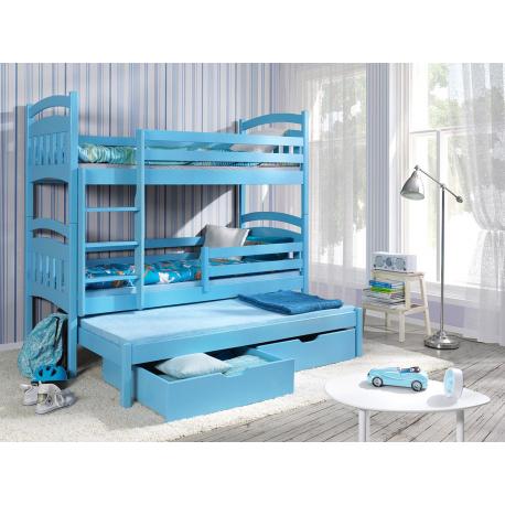 Poschodová posteľ Mumbai 80