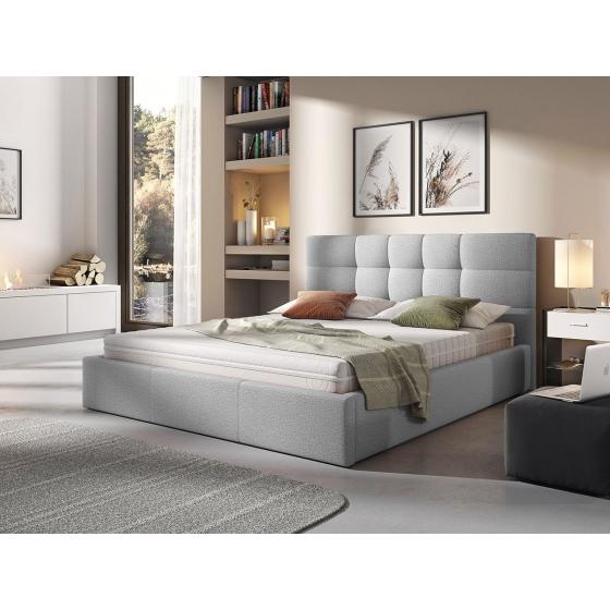 Čalúnená posteľ s roštom Minti