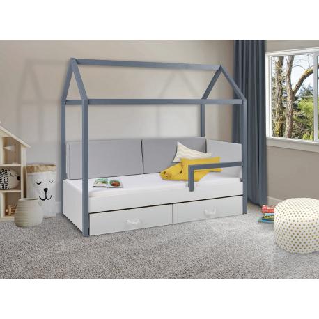 Jednolôžková posteľ so zábranou Fitonia II 80