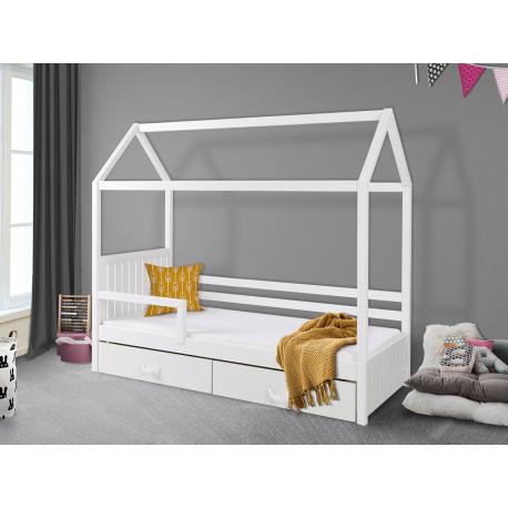 Jednolôžková posteľ so zábranou Pieris II 90