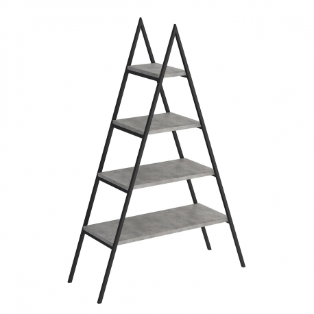 Rebríkový regál Makary