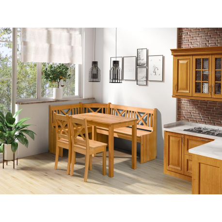 Kuchynský kút + stolík Santiago so stoličkami