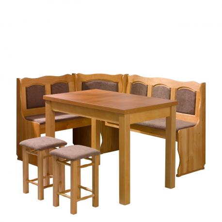 Kuchynský kút + stôl so stoličkami Soter
