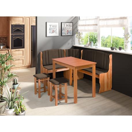 Kuchynský kút + stôl so stoličkami Soter II