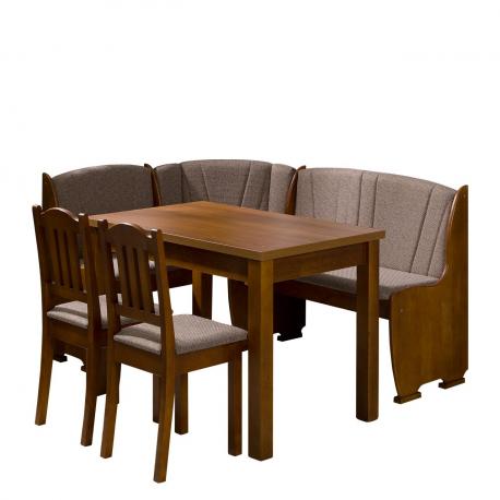Kuchynský kút + stôl so stoličkami Platon