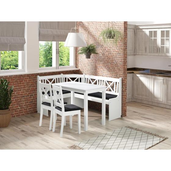 Kuchynský kút + stôl so stoličkami Santiago 1