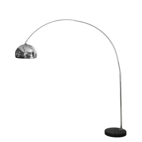 Moderná stojaca lampa Cosmo chróm S 4917