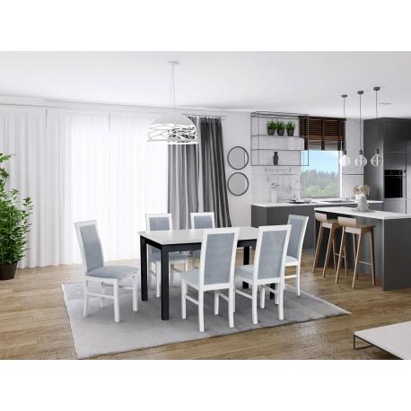 Rozkladací stôl so 6 stoličkami - AL01