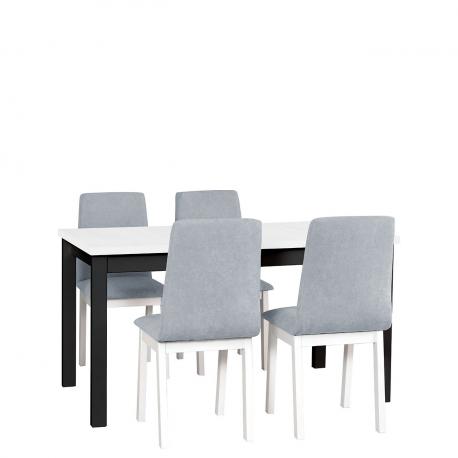 Rozkladací stôl so 4 stoličkami - AL05