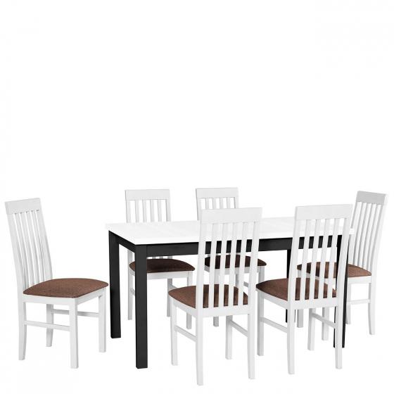 Rozkladací stôl so 6 stoličkami - AL07