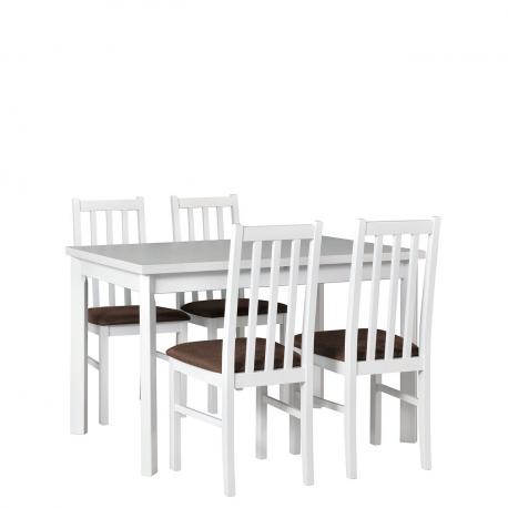Rozkladací stôl so 4 stoličkami - AL24