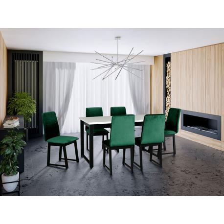 Rozkladací stôl so 6 stoličkami - AL13