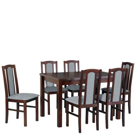 Rozkladací stôl so 6 stoličkami - AL21