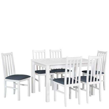 Rozkladací stôl so 6 stoličkami - AL18