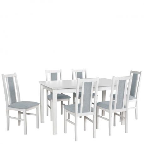 Rozkladací stôl so 6 stoličkami - AL20