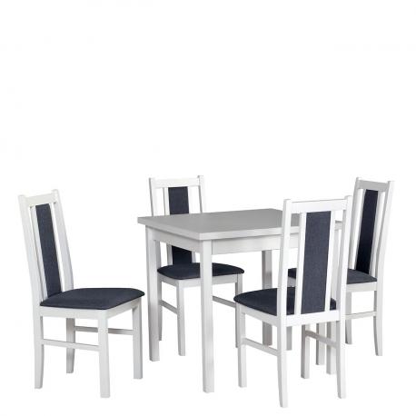 Rozkladací stôl so 4 stoličkami - AL27