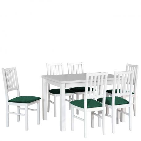 Rozkladací stôl so 6 stoličkami - AL19