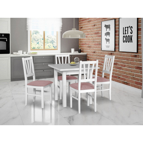 Rozkladací stôl so 4 stoličkami - AL26