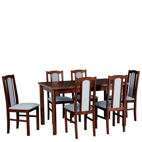 Rozkladací stôl so 6 stoličkami AL31