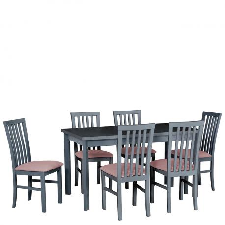 Rozkladací stôl so 6 stoličkami - AL30