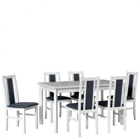 Rozkladací stôl so 6 stoličkami AL32