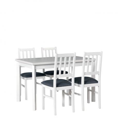 Rozkladací stôl so 4 stoličkami - AL23