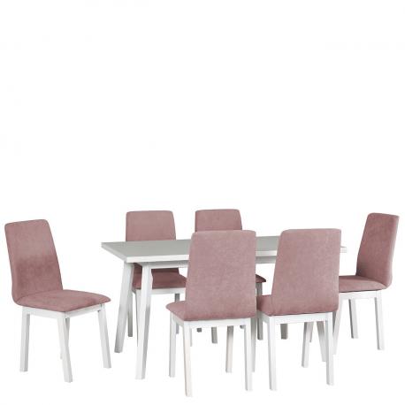 Rozkladací stôl so 6 stoličkami - AL45