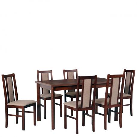 Rozkladací stôl so 6 stoličkami AL33