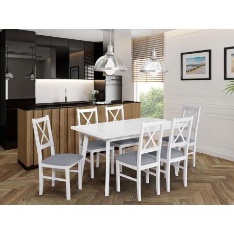Stôl so 6 stoličkami - AL43