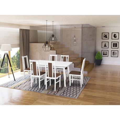 Rozkladací stôl so 6 stoličkami - AL46