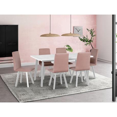 Rozkladací stôl so 6 stoličkami - AL44