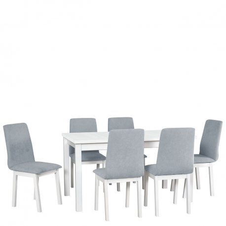 Rozkladací stôl so 6 stoličkami - AL37