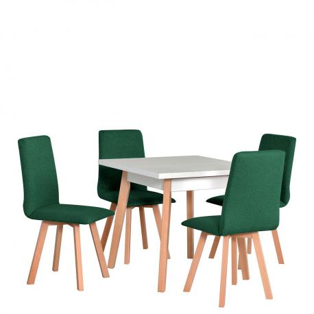 Štvorcový stôl so 4 stoličkami - AL38