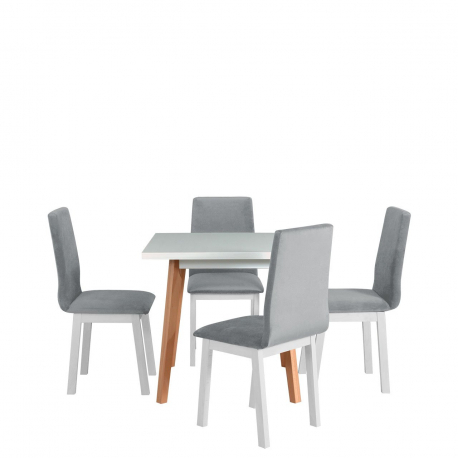 Rozkladací stôl so 4 stoličkami - AL40