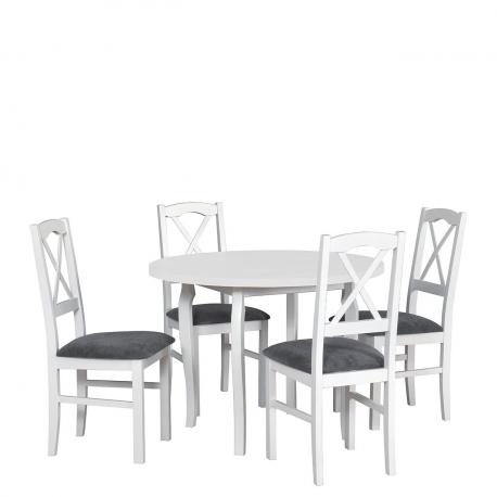Okrúhly stôl so 4 stoličkami - AL55