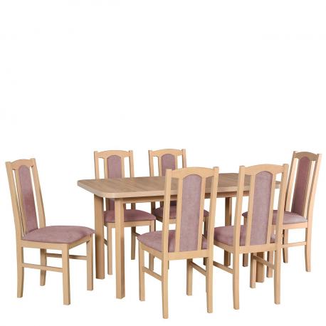 Rozkladací stôl so 6 stoličkami - AL60