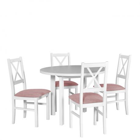 Okrúhly stôl so 4 stoličkami - AL54