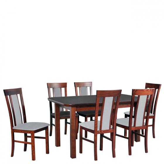 Rozkladací stôl so 6 stoličkami - AL70