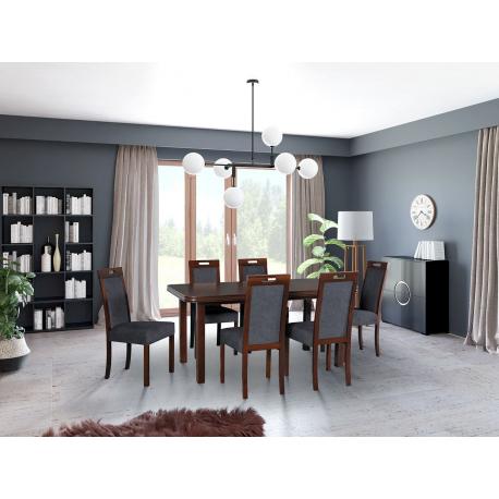Rozkladací stôl so 6 stoličkami - AL69