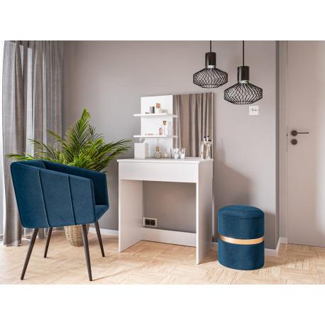 Moderný písací stôl a toaletný stolík Luka