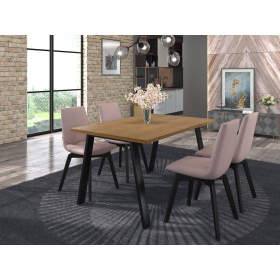 Jedálenský stôl Klaudian 138x90