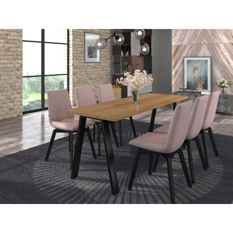 Jedálenský stôl Klaudian 185x67