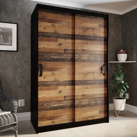 Skriňa s posuvnými dverami Tihunu 130