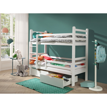 Poschodová posteľ Nimoki New 80