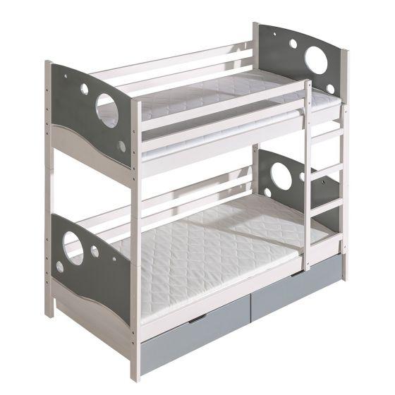 Poschodová posteľ Mewil