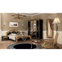 Spálňa Papos Black I