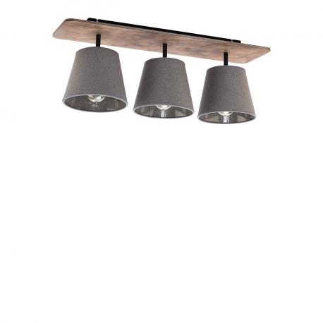 Stropná lampa Awinion Graphit III 9717
