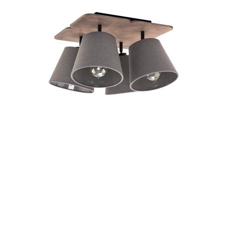 Stropná lampa Awinion IV 9716 Graphit