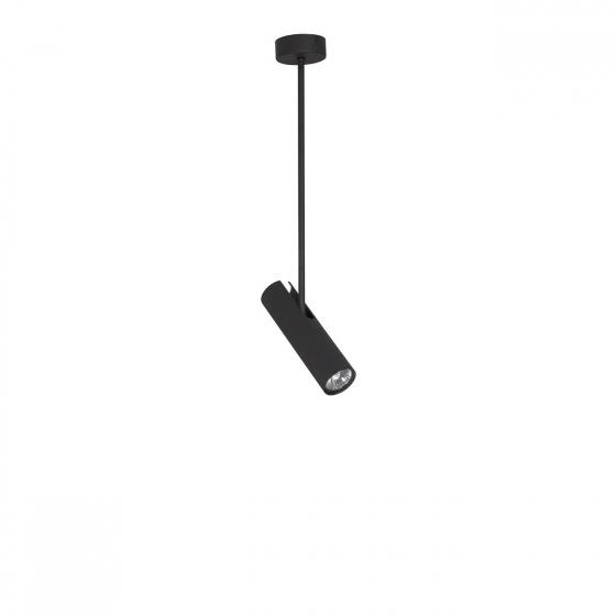 Stropná lampa Eye Black Super A 6502