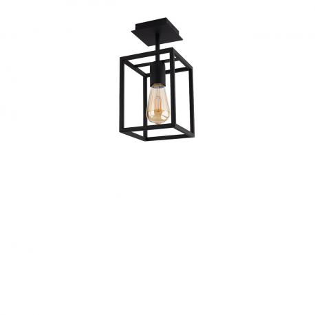 Stropná lampa Crate Black 9045